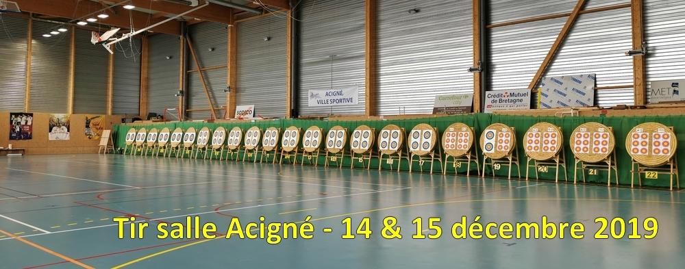 Tir Salle Acigne 14 15 Decembre 2019 Les Archers De Laille